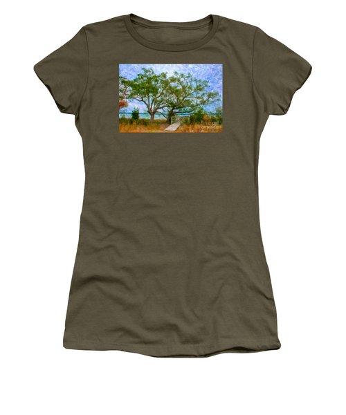Island Time On Daniel Island Women's T-Shirt