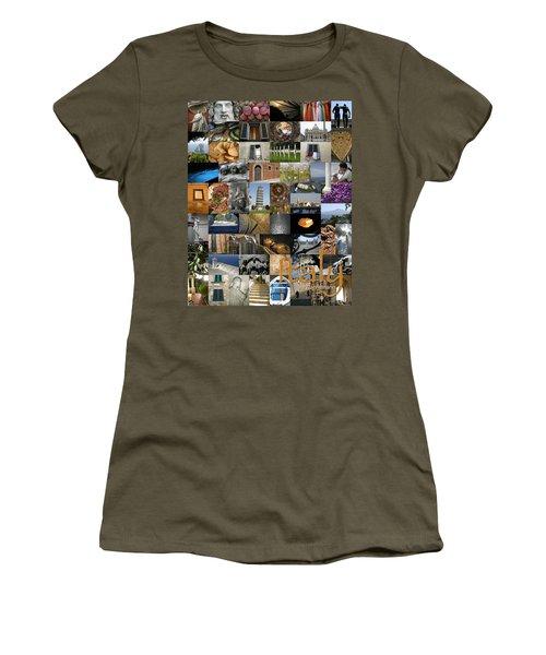 Italy Poster Women's T-Shirt