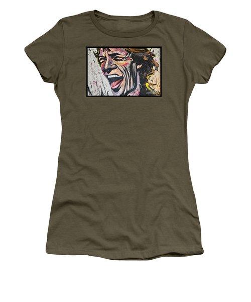 Women's T-Shirt featuring the photograph Its Only Rocken Roll by Gary Keesler