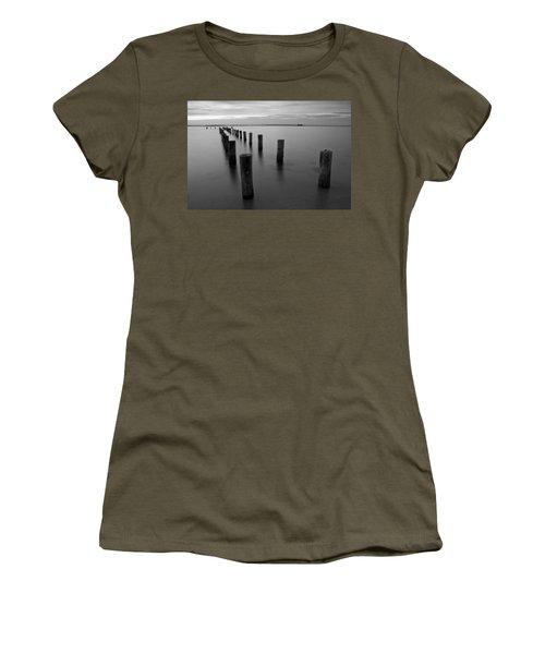 Jetty At Sunset Women's T-Shirt
