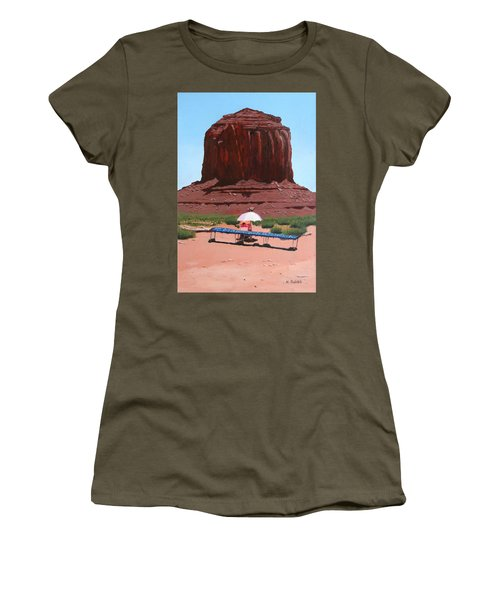 Jewelry Seller Women's T-Shirt (Junior Cut) by Mike Robles
