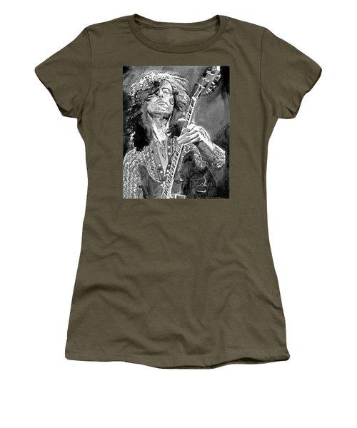 Jimmy Page Mono Women's T-Shirt