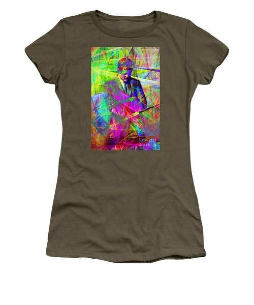 John Fitzgerald Kennedy Jfk In Abstract 20130610 Women's T-Shirt