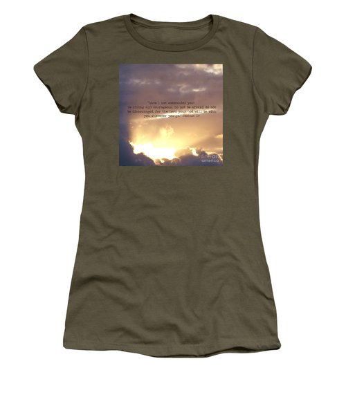Joshua 1 Women's T-Shirt