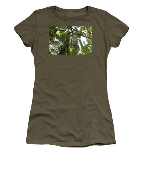 Jungle Canopy Women's T-Shirt (Athletic Fit)