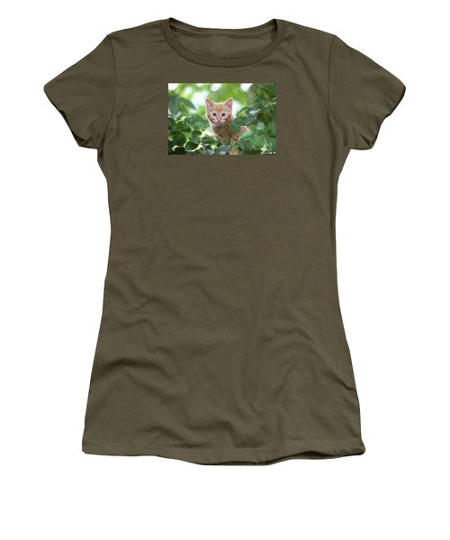 Jungle Kitty Women's T-Shirt (Athletic Fit)