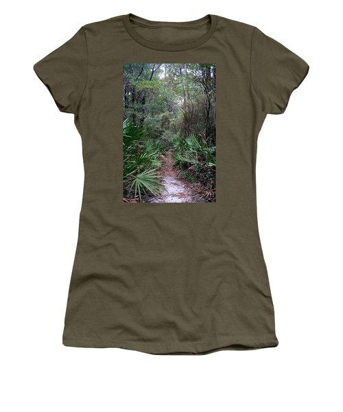 Jungle Trek Women's T-Shirt (Athletic Fit)