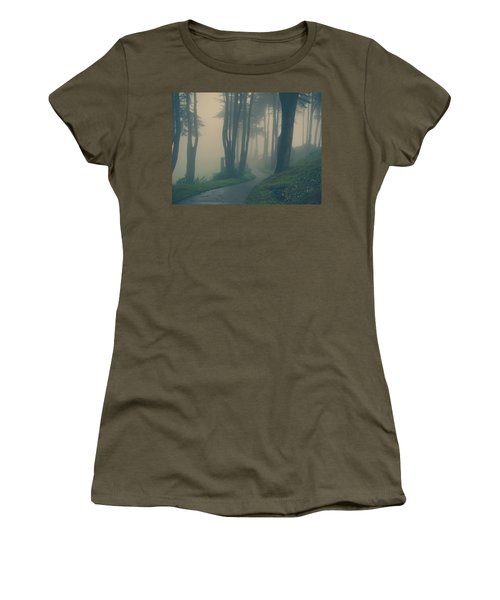 Women's T-Shirt featuring the photograph Just Whisper by Laurie Search