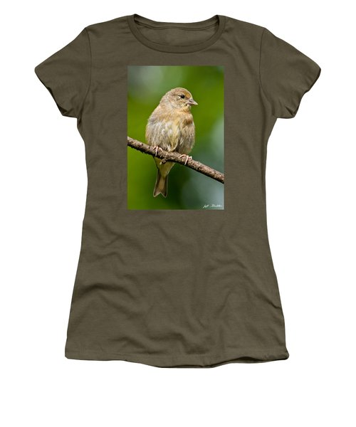 Juvenile American Goldfinch Women's T-Shirt (Athletic Fit)