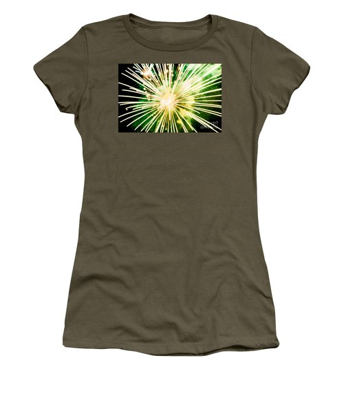 Women's T-Shirt (Junior Cut) featuring the photograph Kaboom by Suzanne Luft
