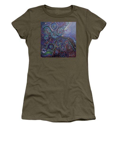 Kaleidoscope Women's T-Shirt (Athletic Fit)