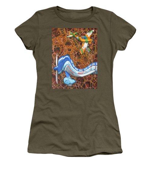 Kamikaze Kraze Women's T-Shirt (Junior Cut)