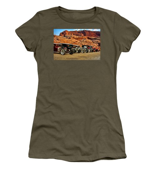 Kansas City Rat Rods And Hot Rods Women's T-Shirt