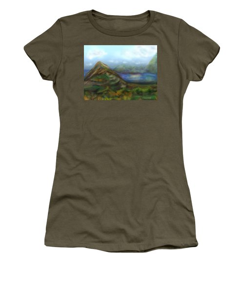 Kauai Women's T-Shirt (Junior Cut) by Christine Fournier