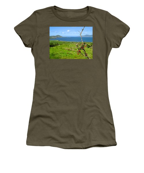 Women's T-Shirt (Junior Cut) featuring the photograph Kerry Me Away by Suzanne Oesterling
