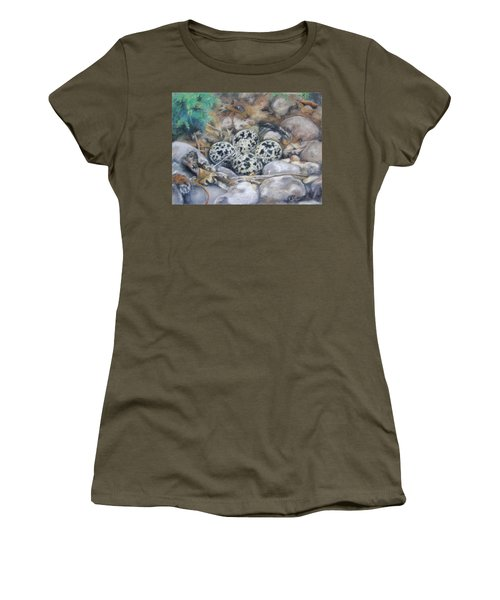 Killdeer Nest Women's T-Shirt