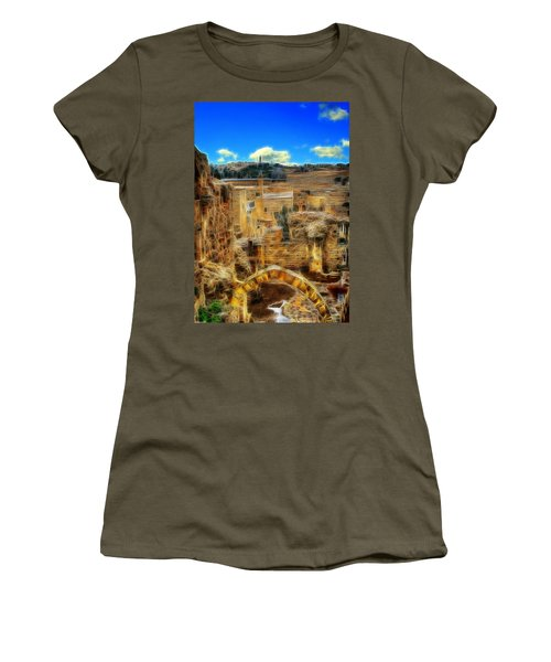 Peaceful Israel Women's T-Shirt (Athletic Fit)