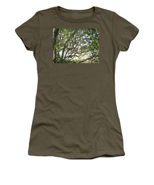 Knarly Oak Women's T-Shirt (Athletic Fit)