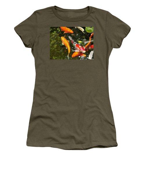 Koi Fish Japan Women's T-Shirt (Athletic Fit)