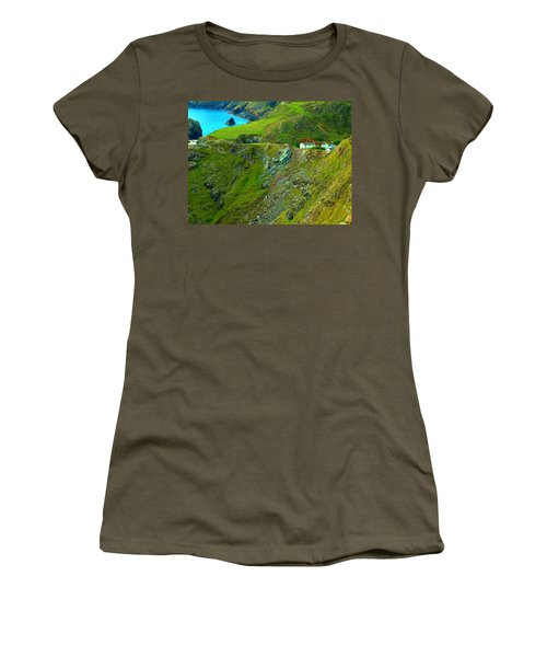 Kynance Cove Women's T-Shirt (Athletic Fit)