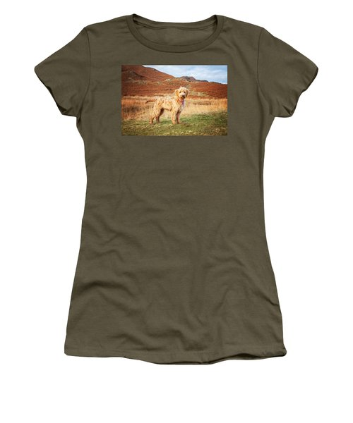 Labradoodle Puppy Women's T-Shirt (Athletic Fit)