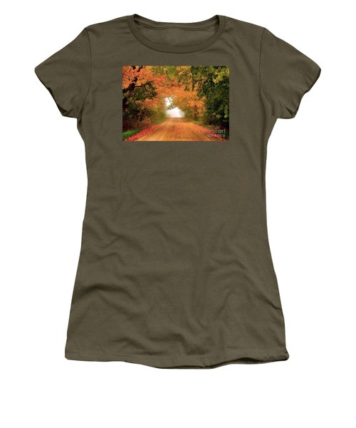 Lady Autumn Women's T-Shirt