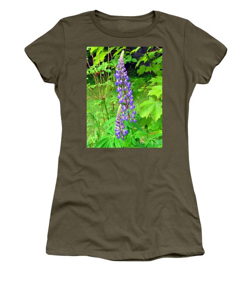 Lady Lupine Women's T-Shirt (Athletic Fit)