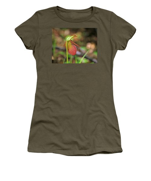 Lady Slippers At Moore State Park 4 Women's T-Shirt (Athletic Fit)