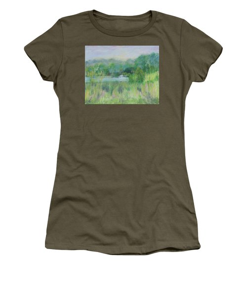 Lake Isaac Impressions Women's T-Shirt (Athletic Fit)