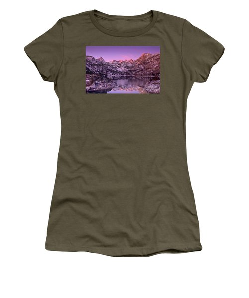 Lake Sabrina Sunrise Eastern Sierras California Women's T-Shirt