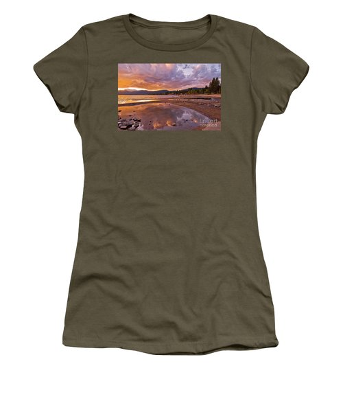 Women's T-Shirt featuring the photograph Lake Tahoe by Mae Wertz