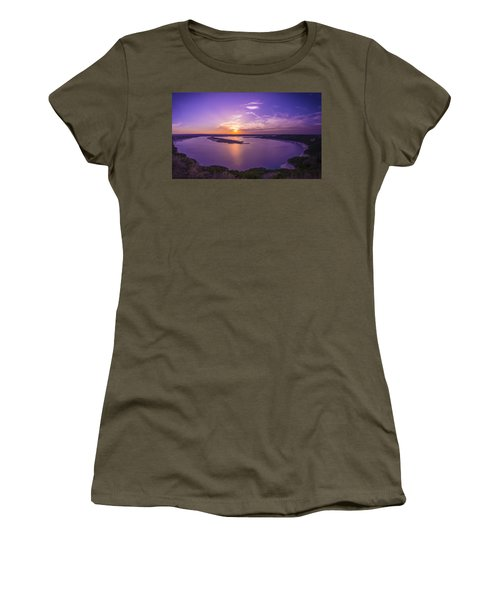 Lake Travis Sunset Women's T-Shirt