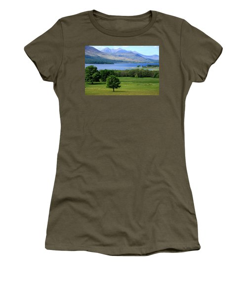 Lakes Of Killarney - Killarney National Park - Ireland Women's T-Shirt (Junior Cut) by Aidan Moran