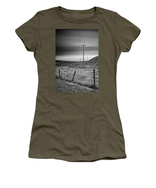 Land Line Women's T-Shirt