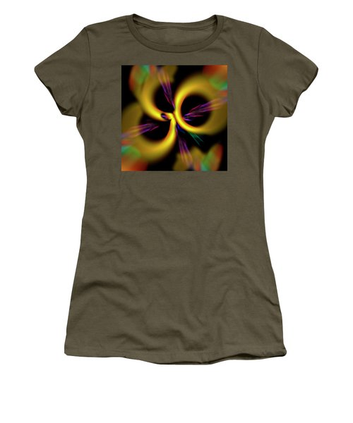 Laser Lights Abstract Women's T-Shirt