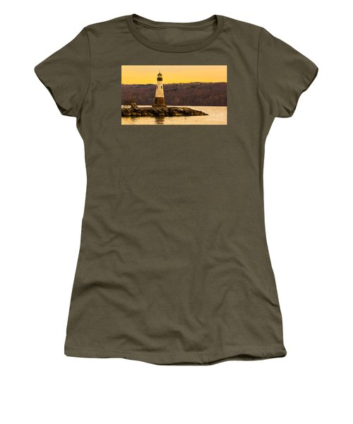Late Fall Sunset At Myers Park Women's T-Shirt