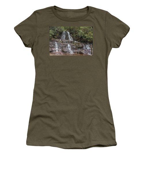Laurel Falls - Great Smoky Mountains National Park Women's T-Shirt