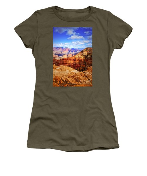 Layers Of The Canyon Women's T-Shirt (Athletic Fit)