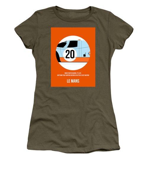 Le Mans Poster 2 Women's T-Shirt
