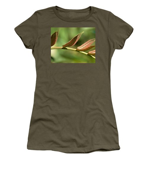 Leaf Bridge Women's T-Shirt (Athletic Fit)