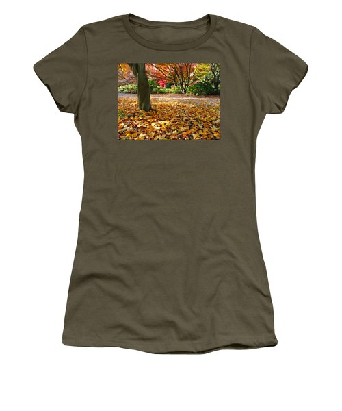 Leaves And More Leaves Women's T-Shirt