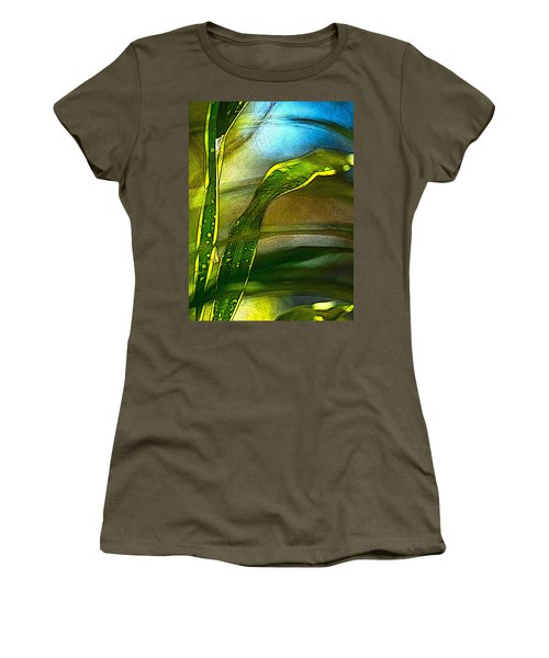 Leaves And Sky Women's T-Shirt (Athletic Fit)