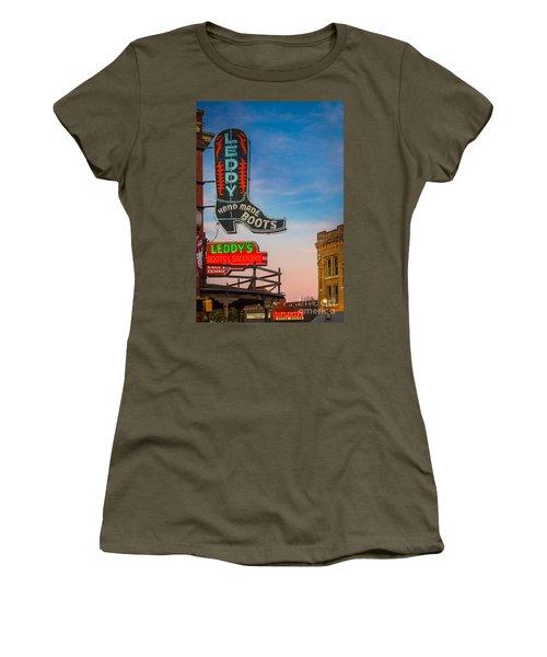 Leddy Boots Women's T-Shirt