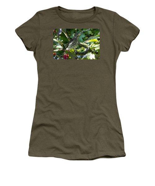 Left The Nest Women's T-Shirt (Athletic Fit)