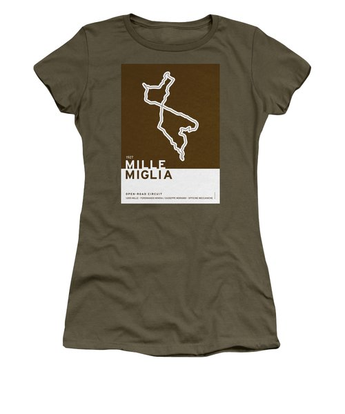 Legendary Races - 1927 Mille Miglia Women's T-Shirt