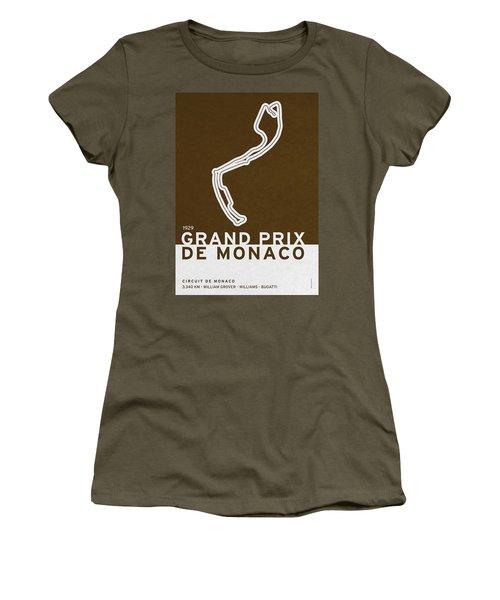 Legendary Races - 1929 Grand Prix De Monaco Women's T-Shirt