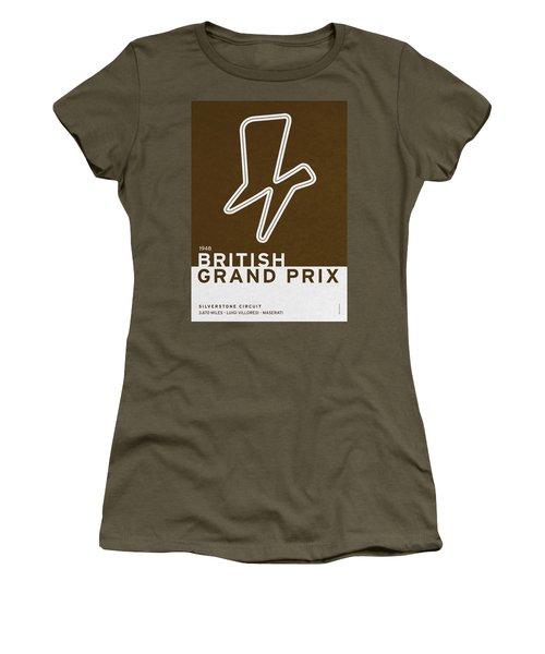Legendary Races - 1948 British Grand Prix Women's T-Shirt