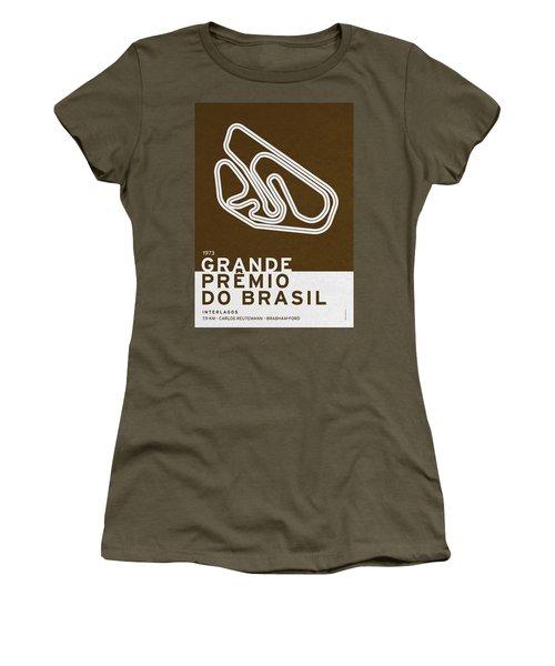Legendary Races - 1973 Grande Premio Do Brasil Women's T-Shirt