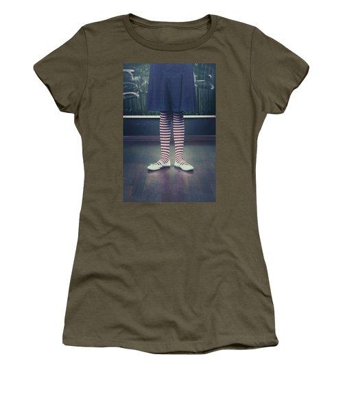 Legs Of A Schoolgirl Women's T-Shirt