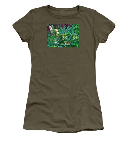 Lenten Roses Women's T-Shirt (Athletic Fit)